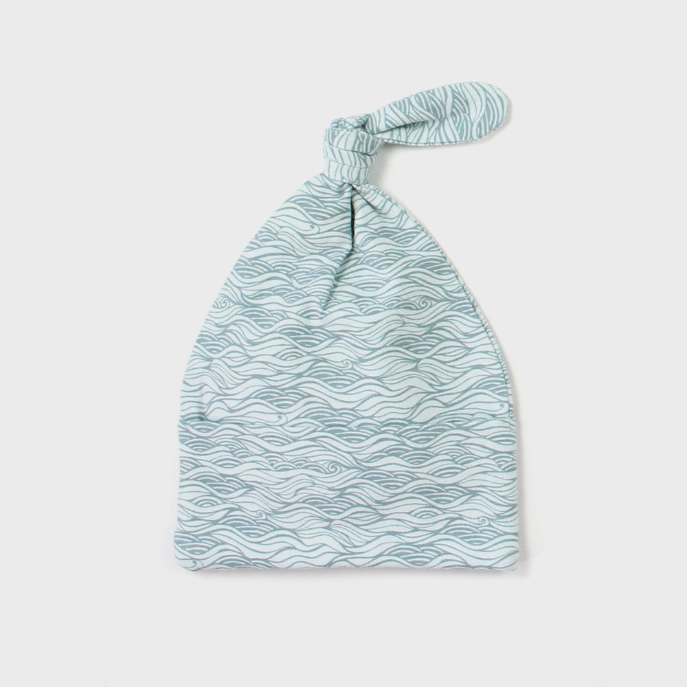 Knot Beanie - Ocean - The Rest