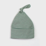 Knot Beanie - Seafoam Stripe - The Rest