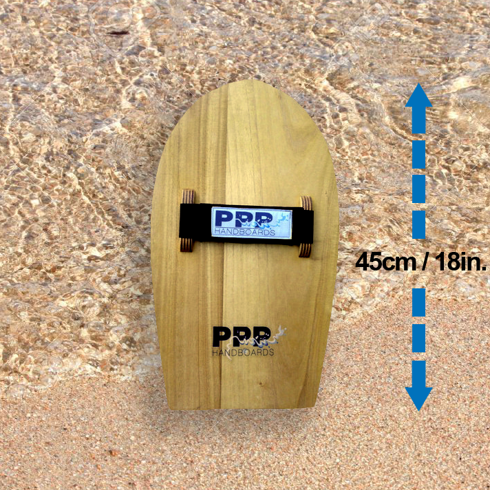 Bodysurfing handboards by PPP Handboards using Velo Midi