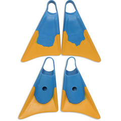 Body surfing hand boards fins by Churchill for handplanes use also