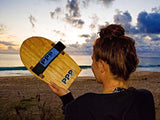 PPP bodysurfing handboard are made from sustainably grown paulownia wood