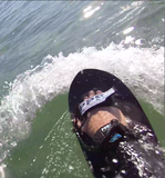 PPP Bodysurfing handboards / handplane Carbon VR triplane shape innovative design slick performance