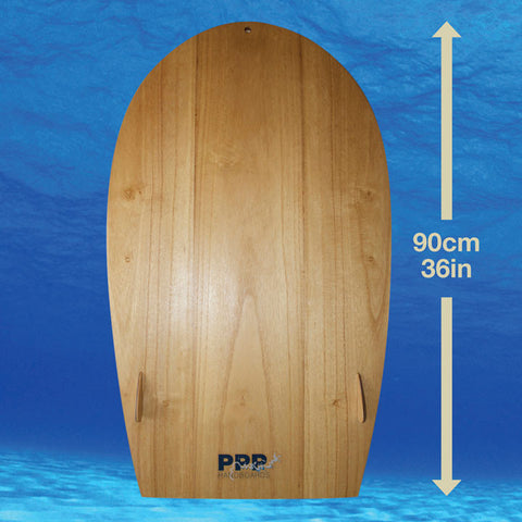 PPP Handboards Velo Maxi is a very fast body board which is multilayered and linear planing.