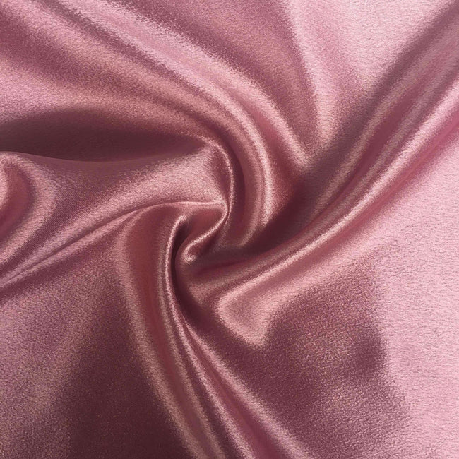 Satin Back Crepe - Rose