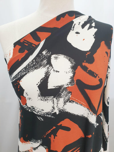 Printed Lycra - Graffiti