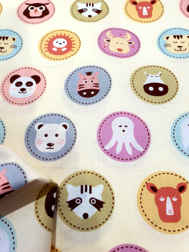 Craft & Quilt - Animal Button