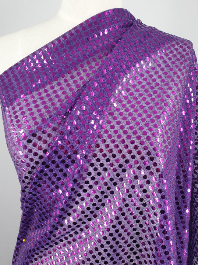 Sequin - Purple - 112cm