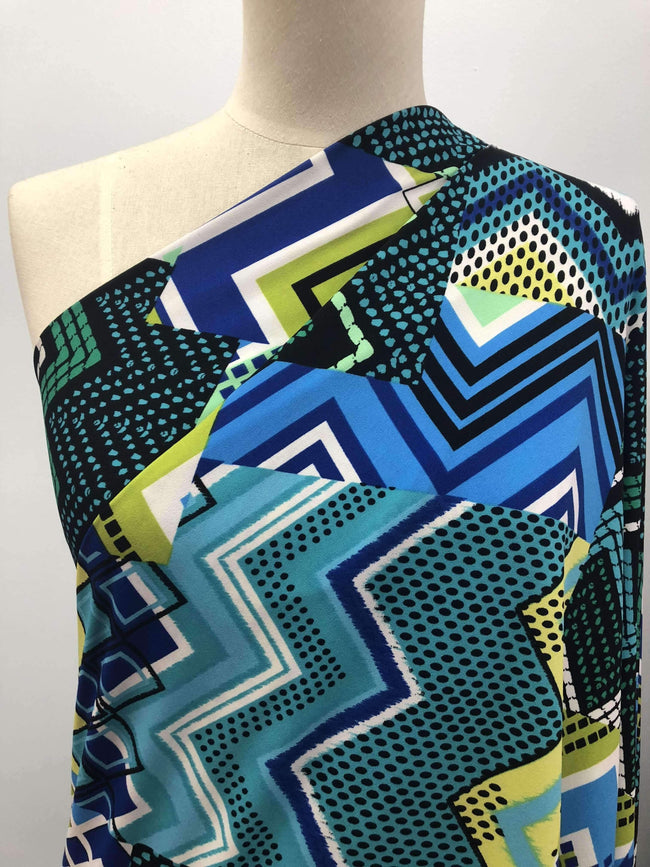 Printed Lycra - Collage