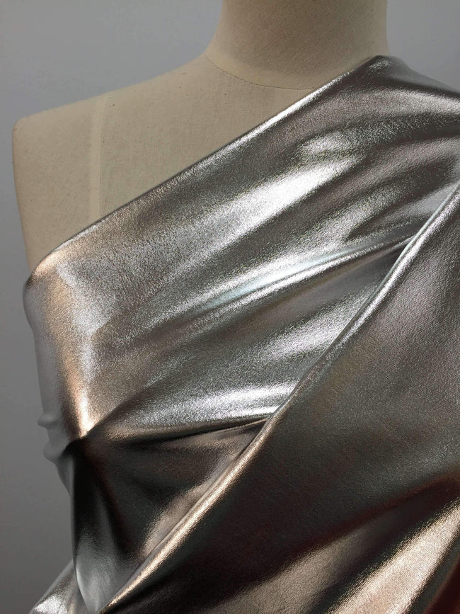 Foil Silver - Super Cheap Fabrics