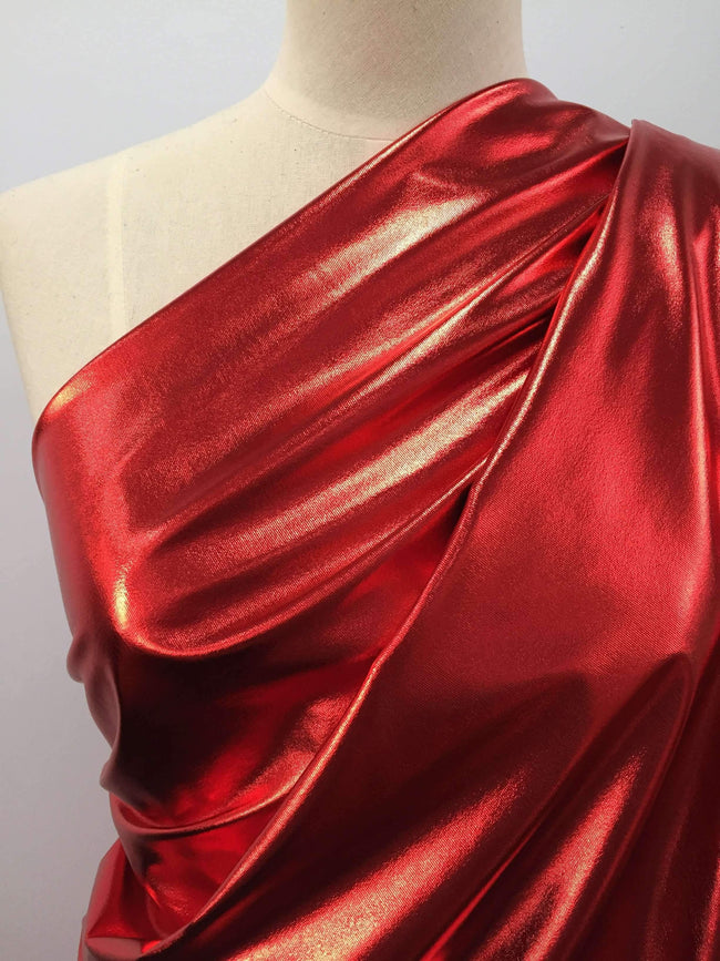 Foil Red - Super Cheap Fabrics