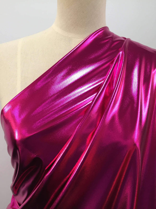 Foil Hot pink - Super Cheap Fabrics