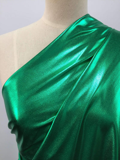 Foil Emerald - Super Cheap Fabrics
