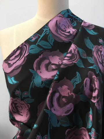 Midnight Rose - Super Cheap Fabrics