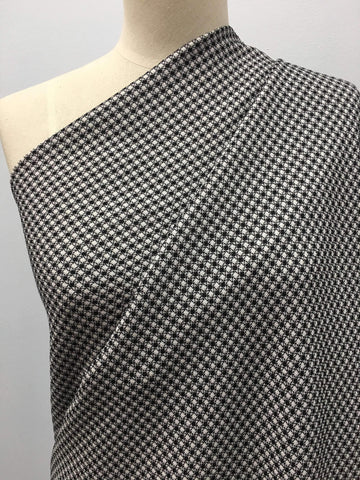 Hot Knot Jacquard - Black/White - Super Cheap Fabrics