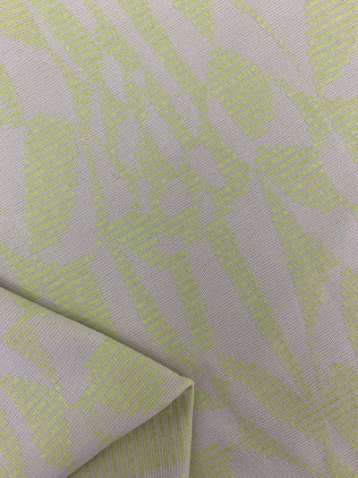 Textured Knit - Lime Stripe Splice