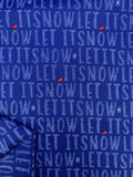Printed Cotton - Let It Snow