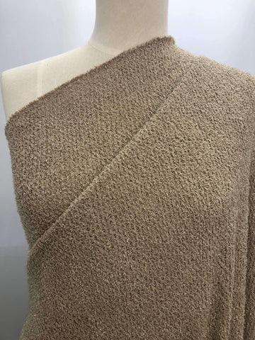 Textured Knit - Sand Shimmer