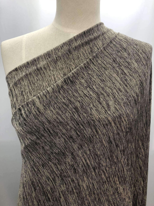 Textured Knit - Metallic