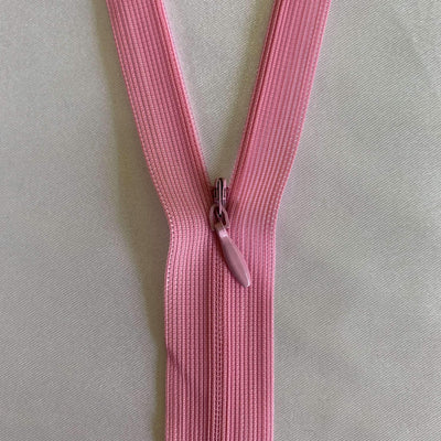 Invisible Zip - Pink - Super Cheap Fabrics