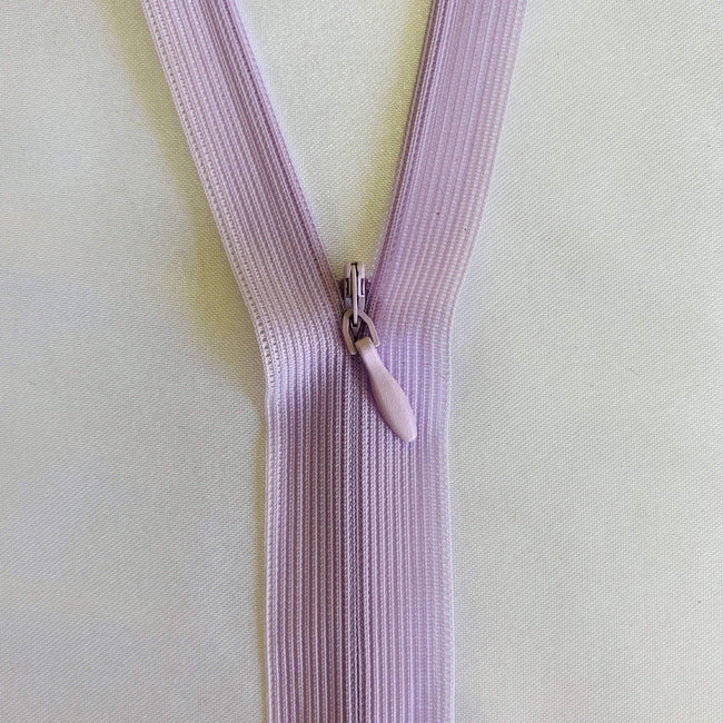 Invisible Zip - Lilac - Super Cheap Fabrics