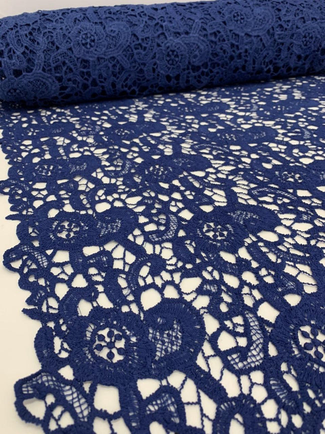 Anglaise Lace - Navy Florina