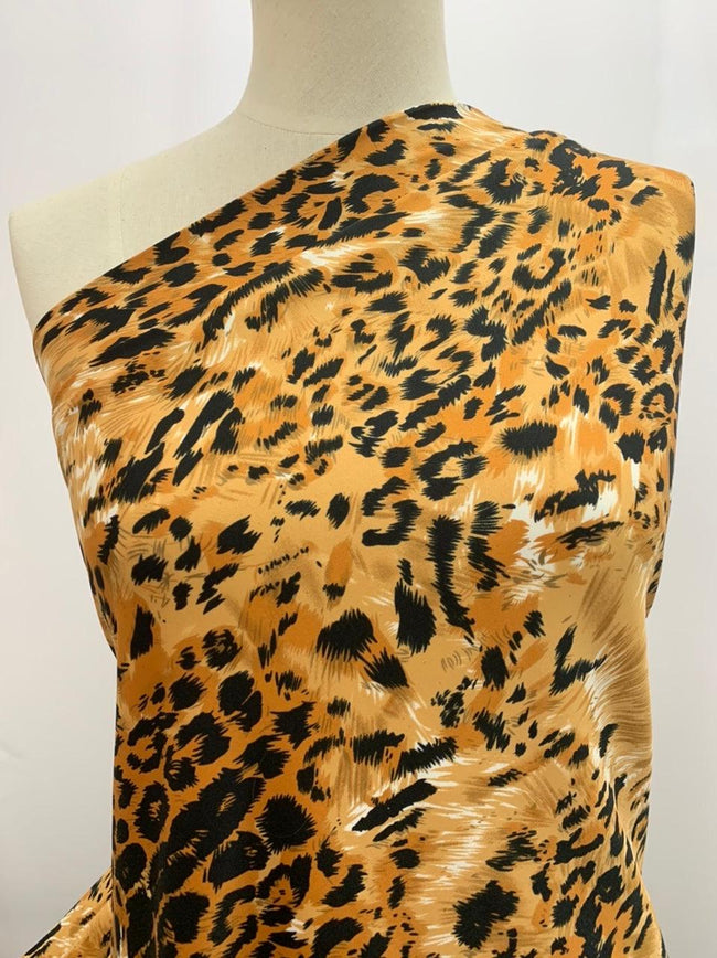 Printed Lycra - Animal Splice