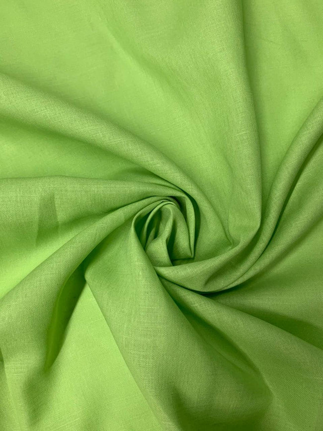Pure Linen - Lime Green