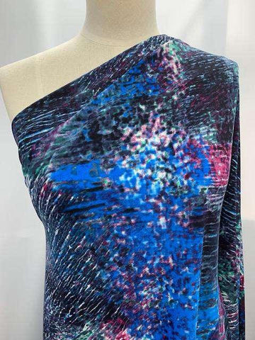 Printed Lycra-Bubbles