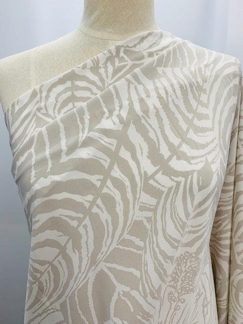 Crepe De Chine - Tiger Leaves