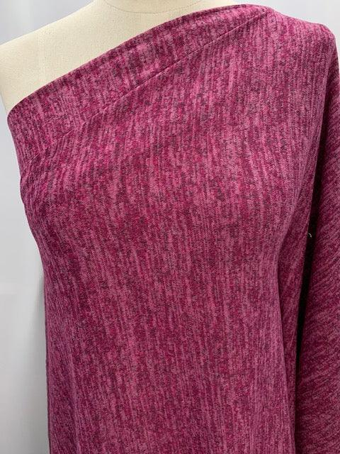 Wool Knit - Fuschia