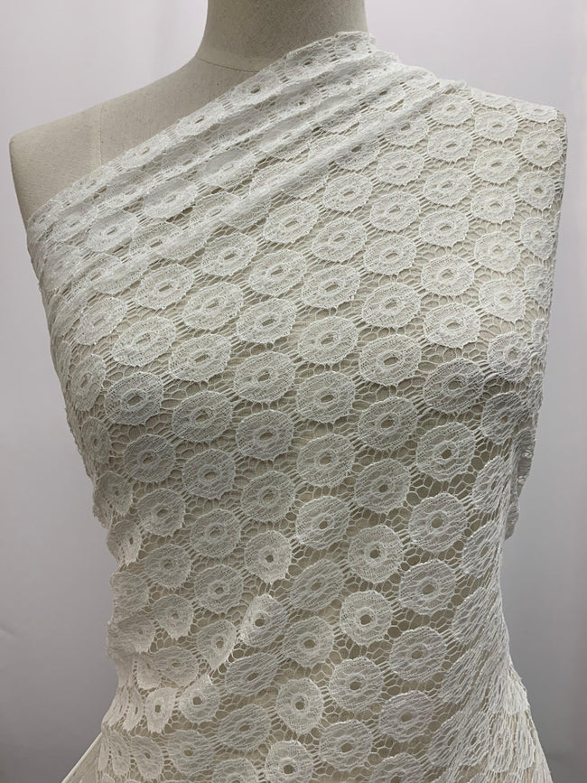 Lace - White Circles