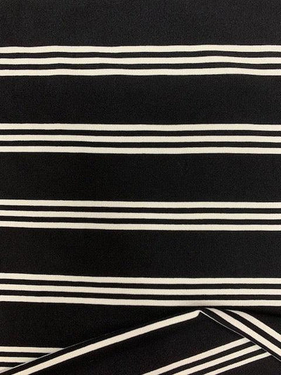 Printed Lycra - Licorice