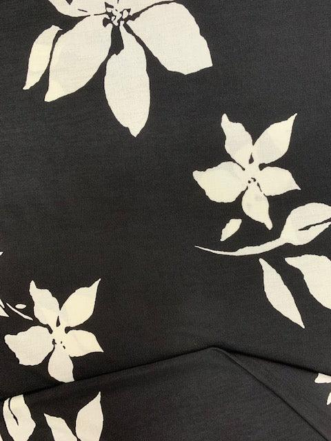 Printed Lycra - Shadow Lily