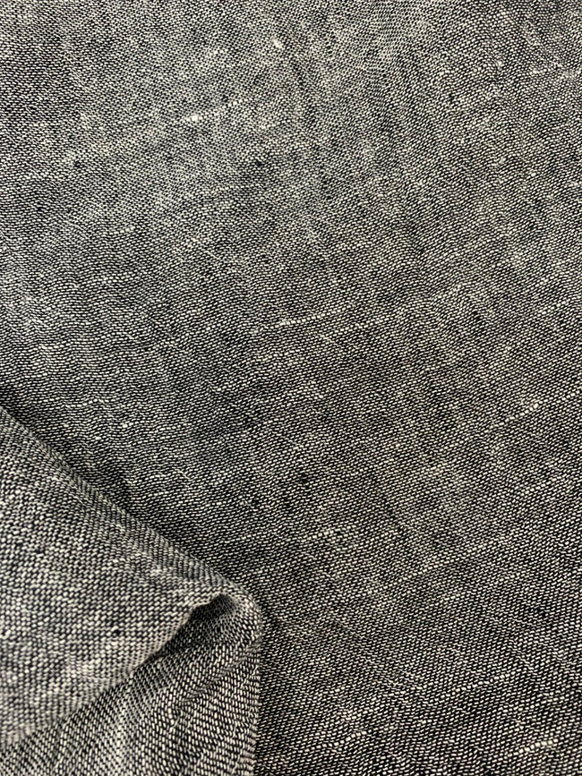 Pure Linen - Charcoal