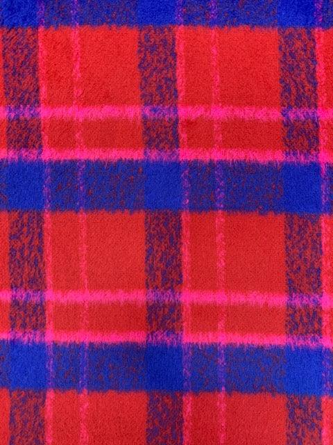 Wool Cashmere - Loud Plaid