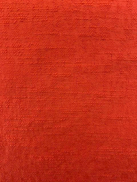 Textured Cotton - Orange
