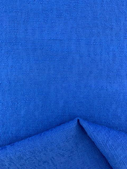 Textured Cotton - Blue