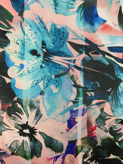 Printed Chiffon - Terrestrial Nature