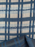 Designer Fabric - Lattice Teal