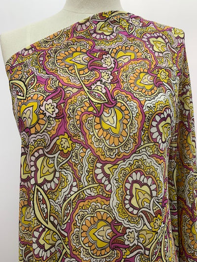 Paisley Printed Chiffon - Super Cheap Fabric