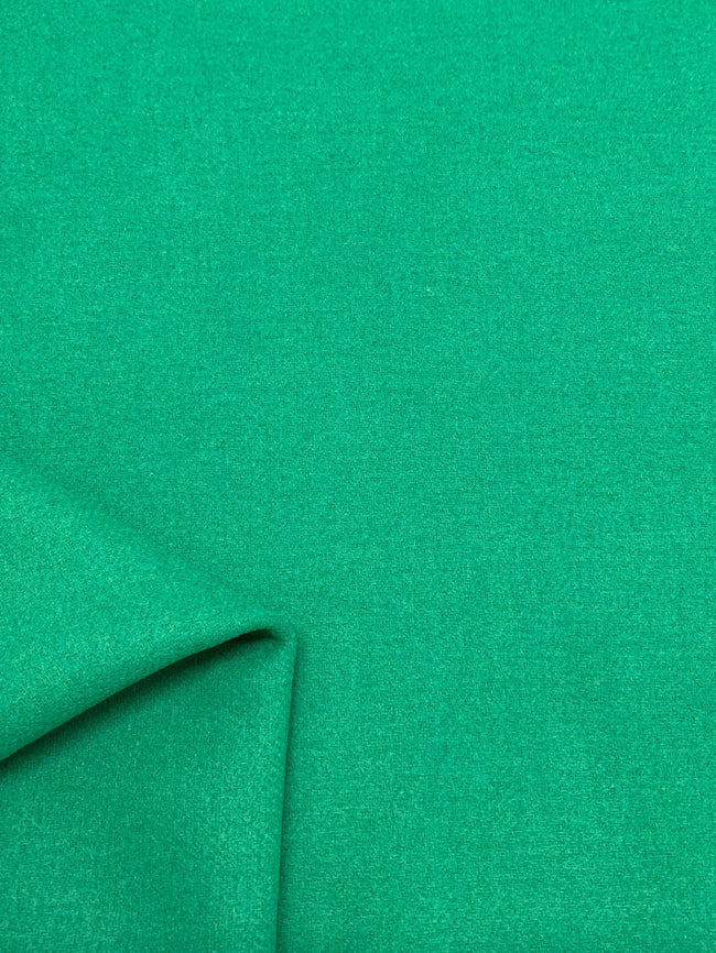 Super Cheap Fabrics Wool Cashmere Bright Green fabric
