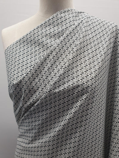 Printed Cotton - Graphic Leaves - 150cm