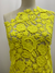 Super Cheap Fabrics - Anglaise Lace - Yellow Flora - 125cm