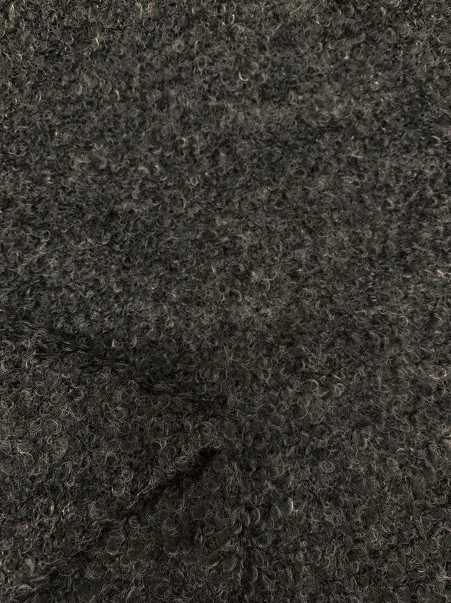 Wool Boucle - Charcoal