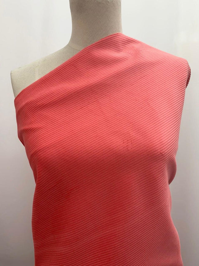 Wide Wale Corduroy - Coral
