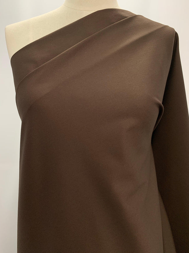 Cotton Sateen - Chocolate