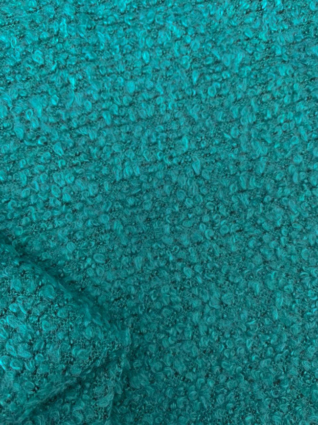 Wool Boucle - Turquoise