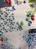 Printed Cotton - Country Garden
