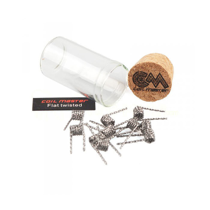 Coil Master Flat Twisted Coils (10 coils)