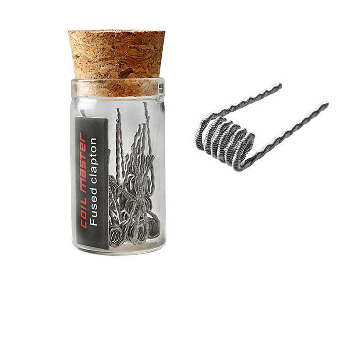 Coil Master Fused Clapton Coils (10 coils)